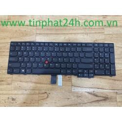 Thay Bàn Phím - KeyBoard Laptop Lenovo ThinkPad T540P T540 W540 E531 E540 04Y2426