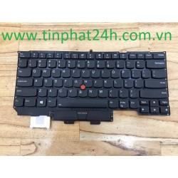 Thay Bàn Phím - KeyBoard Laptop Lenovo ThinkPad X1 Carbon Gen 6