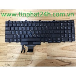 KeyBoard Laptop Dell Latitude E5550 E5570 E5580 E5590 Precision M3510 M3520 M3530 M7510 M7520 0GNNP4