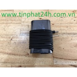 Thay Sạc - Adapter Laptop Dell XPS 12 L221X 9Q23 9Q33 XPS 13 9350 9360 9370 7390 19.5V-2.31A GM456 0JT90M 0CDF57 LA45NS0-00 Oval
